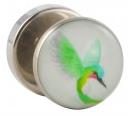 Stahl Fake Plug Kolibri