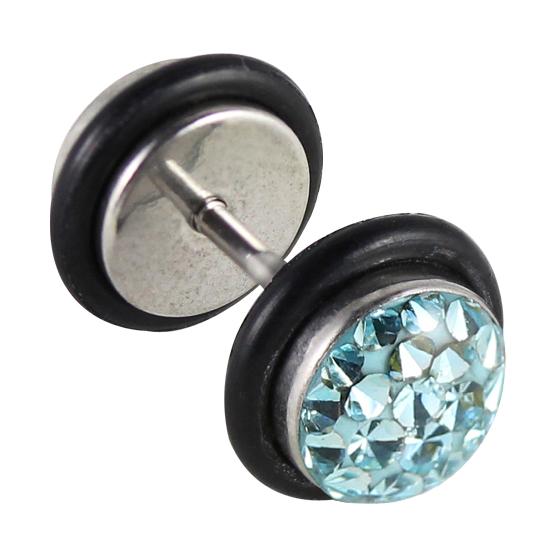 kristall fake plugs fake plugs mit gl nzenden kristallen online g nstig kaufen. Black Bedroom Furniture Sets. Home Design Ideas