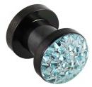 Stahl Plug Kristalle