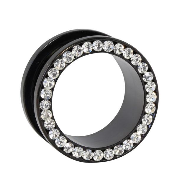 kristall flesh tunnel im shimo shop online g nstig kaufen flesh tunnel piercings plugs fake. Black Bedroom Furniture Sets. Home Design Ideas