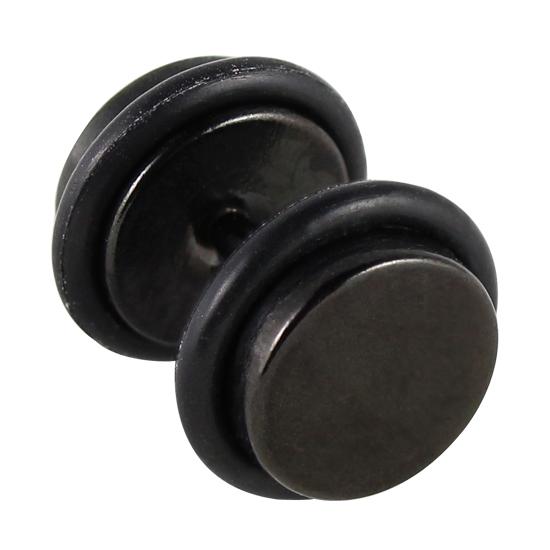 fake plugs schwarz