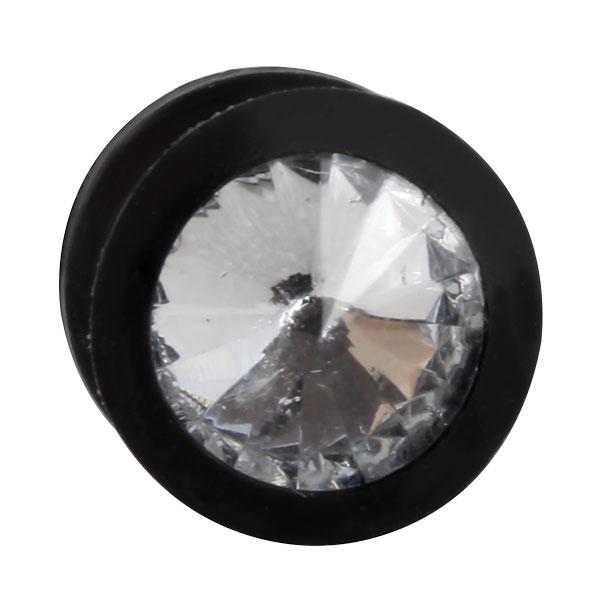 silikon plug schwarz kristall klar kristall plugsplugs. Black Bedroom Furniture Sets. Home Design Ideas