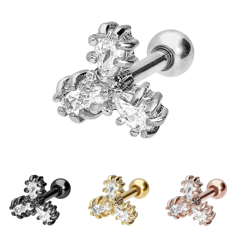 Piercingschmuck Piercing-/körperschmuck Ball Closure Ring Mit Piercing Ringen 3mm Ohrpiercing Intimpiercing Um Jeden Preis