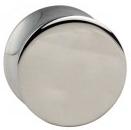 Stahl Plug silber