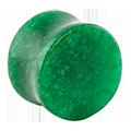 Glas und Stein Plugs in 25mm Durchmesser